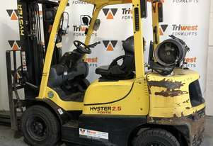 Hyster 2.5t counterbalance container mast forklift
