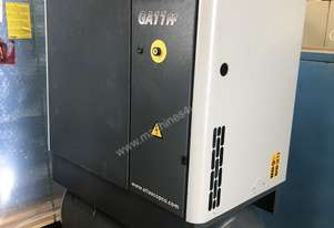 11kW Screw Compressor with Tank and Dryer
