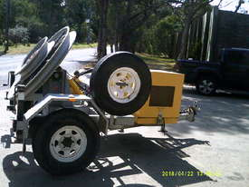 RG fibre winch , remote controls , diesel ,  - picture2' - Click to enlarge