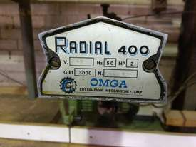 Omga Radial 400 radial arm saw - picture3' - Click to enlarge