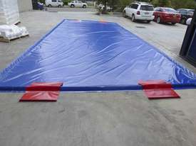Mobile Wash Bay Truck Mat Bunded AKUNA with Heavy Duty Tsurumi Pump - picture4' - Click to enlarge