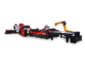 Automatic Coil Fiber Laser Cutting Machine