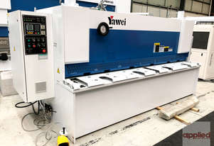 Yawei HGS 6-3050 Variable Rake Hydraulic Guillotine with Estun E21S.