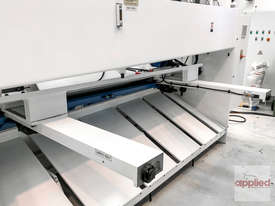 Yawei HGS 6-3050 Variable Rake Hydraulic Guillotine with Estun E21S. |-- IN STOCK --| - picture4' - Click to enlarge