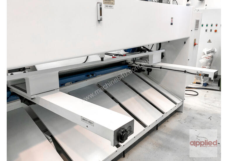 Yawei HGS 6-3050 Variable Rake Hydraulic Guillotine with Estun E21S. |-- IN STOCK --|