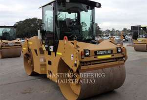 CATERPILLAR CB-534D Double Drum Smooth Roller