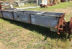 Pugmill/mixer  stainless