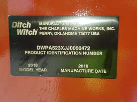 Ditch Witch Trencher / Backhoe - picture3' - Click to enlarge