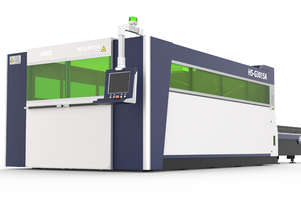** IN STOCK ** HSG 3015A 2kW Fiber Laser Cutting Machine - IPG, SANYO, ALPHA