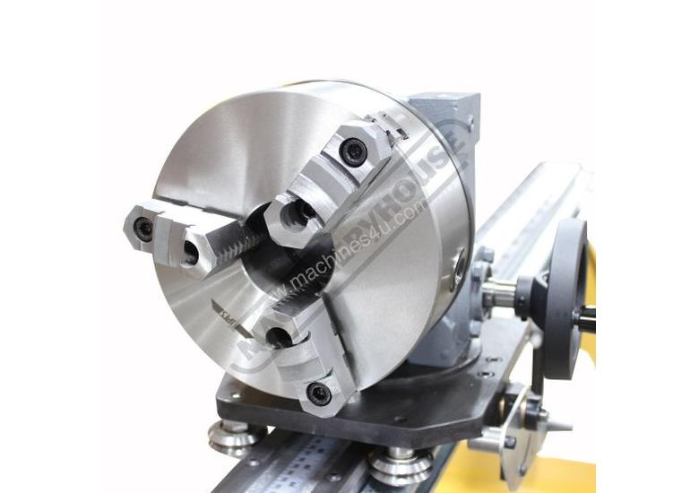 IDX-20-350-M 6096mm (20ft) Rotary Positioning Table 63.5mm Index Chuck Thru Hole Suits RDB-350 Hydra