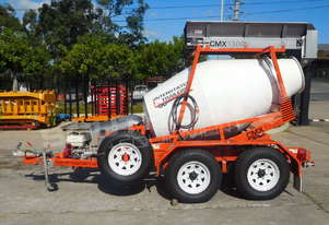 Concrete Mixer Trailer Interstate Trailers CMX1300 Mini mixer ATTMIX