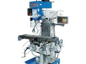 HM-51B Turret Milling Machine (X) 580mm (Y) 190mm (Z) 350mm Includes Digital Readout System & Swivel - picture0' - Click to enlarge