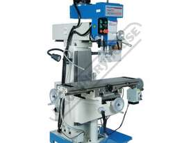 HM-51B Turret Milling Machine (X) 580mm (Y) 190mm (Z) 350mm Includes Digital Readout System & Swivel - picture3' - Click to enlarge