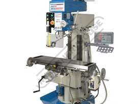 HM-51B Turret Milling Machine (X) 580mm (Y) 190mm (Z) 350mm Includes Digital Readout System - picture0' - Click to enlarge
