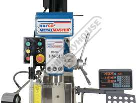 HM-51B Turret Milling Machine (X) 580mm (Y) 190mm (Z) 350mm Includes Digital Readout System - picture4' - Click to enlarge