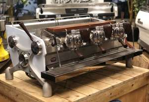 SLAYER V2 3 GROUP WHITE WITH TIMBER ACCENTS ESPRESSO COFFEE MACHINE
