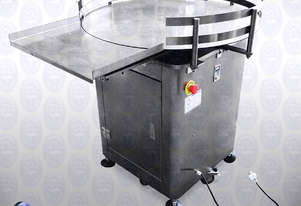 Flamingo Stainless Steel Feed/ Collect Turntable (EFTT-800)