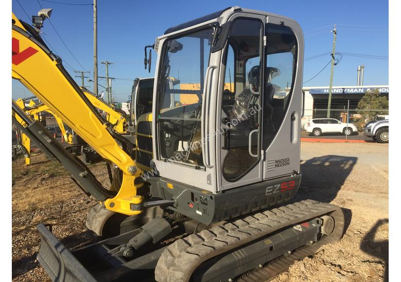 Wacker Neuson EZ53 Excavator - Outrageously Powerful
