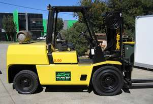 HYSTER 5T LPG forklift with CONTAINER MAST