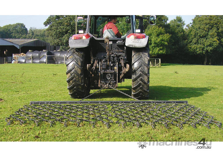2019 HACKETT 4' CONCORD CHAIN HARROWS