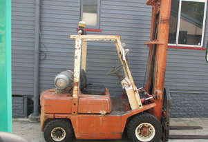 Nissan 2.5 ton LPG Used Cheap Forklift  #1516