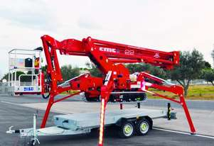 Cmc   S22HD 21.6m Spider Lift