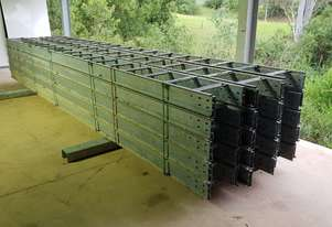 Cold Galvanized cable ladder
