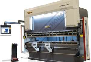 APHS 31090 Hydraulic CNC Pressbrake 90T x 3100mm, 4 Axis, Delem DA58T Touch Screen Control Includes