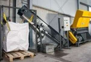 2020 UNTHA Pallet shredding system