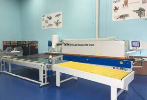 NikMann 2RTF-v.4 - Edgebander with Pre-Milling and Double Corner Rounder - made in Europe