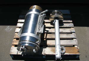 Jacketed Stainless Pneumatic Dosing Shot Pump - 40L