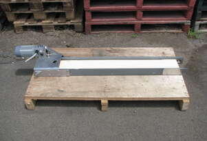 Small Motorised Belt Conveyor - 1m long