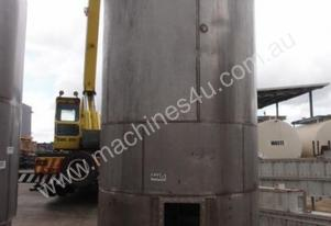 Stainless Steel Mixing - Capacity 11,000 Lt.