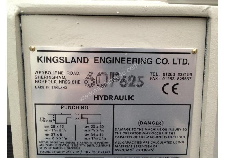 Kingsland 60P Punch Machine Made in England