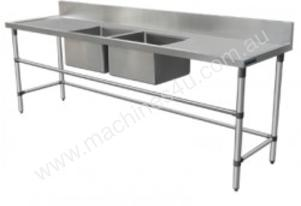 Brayco DSRL2000 Double Bowl Stainless Steel Sink (