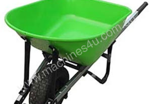 WHEELBARROW STEEL TRAY 7CFT WIDE WHEEL