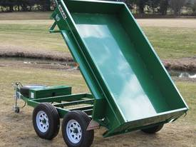 No.19 Tandem Axle Hydraulic Tipping Box Trailer