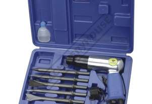 RP7809H Air Hammer Chisel Kit 2.3cfm 7 Piece Set