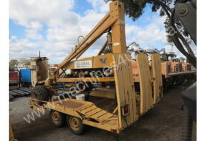 squirel 6.5 orchade picker , and trailer , ex mine