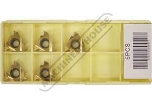 L058 16IRM Carbide Inserts - Internal Threading 60º Grade P30 5 Inserts Per Pack
