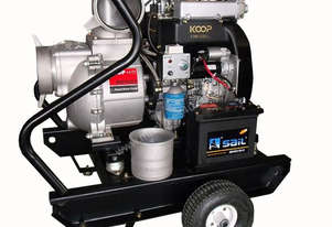 6 inch diesel water pump 2800L/min flow V twin