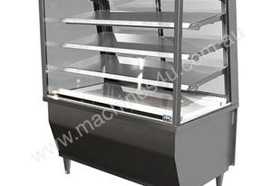 FPG 5CA12-SQ-FF 5000 Series Square Controlled Ambient Fixed Front Food Cabinet - 1200mm