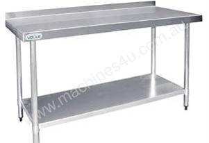 Stainless Steel Prep Table with Splashback - T382