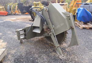 Hydrapower Rocksaw to suit Skidsteer