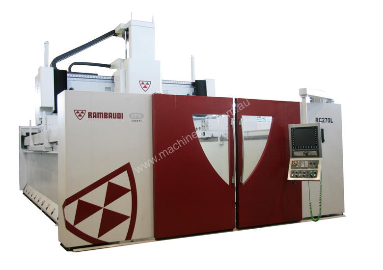 Rambaudi High Quality Italian 5 Axis Machining Centres