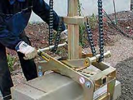 Rock Block Grab 1500kg 750mm Jaw - picture0' - Click to enlarge