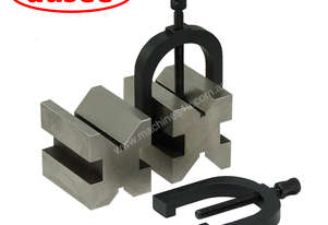 V-Block and Clamp Set 2pcs Set  (Imperial)
