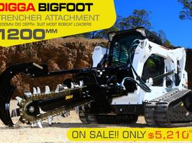 BIGFOOT Hydraulic Trencher - 1200MM DIG DEPTH