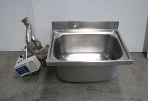 Sterilising Stainless Steel Sink
