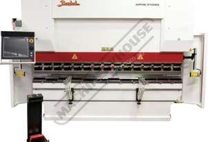 APHS-3104x90 Hydraulic CNC Pressbrake 90T, 4 Axis, Delem DA66T Touch Screen Control Includes Program
